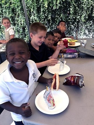 Heritage Elementary School's 'Back-to-School Barbecue'